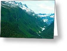 Captivating Gorge Greeting Card
