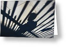 Captured Shadow Greeting Card