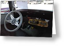 Car 140 Greeting Card