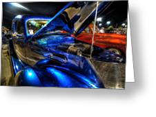 Car Show Greeting Card