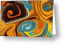 Caramel Dreams Greeting Card
