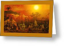 Caravan Greeting Card