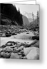 Carbon River Greeting Card