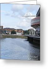 Cardiff In Wales Greeting Card