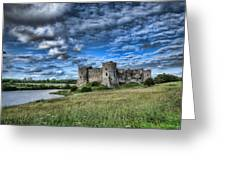 Carew Castle Pembrokeshire 3 Greeting Card