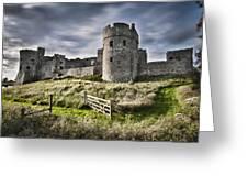 Carew Castle Pembrokeshire Long Exposure 2 Greeting Card