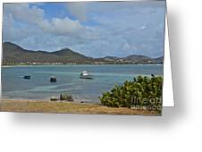 Caribbean Cove Greeting Card