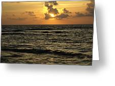 Caribbean Sunrise Greeting Card