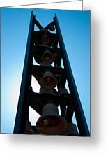 Carillon Bell Tower 9/11 Memorial Greeting Card