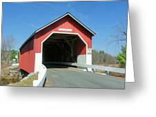 Carlton Covered Bridge Greeting Card