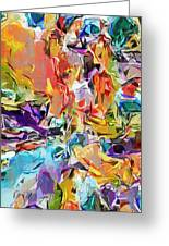 Carnival Abstract 082512 Greeting Card
