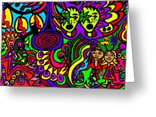 Carnival Day Greeting Card