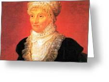 Caroline Herschel, German-british Greeting Card