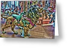 Carousel Color Greeting Card