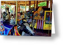 Carousel Fun Greeting Card