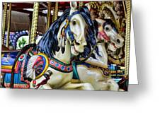 Carousel Horse 2 Greeting Card by Paul Ward
