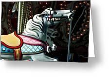 Carousel Horse Greeting Card