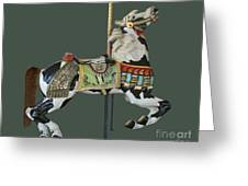 Carousel Paint Horse Greeting Card