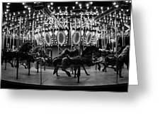 Carousel Work Number One Greeting Card