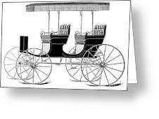 Carriage: Surrey Greeting Card