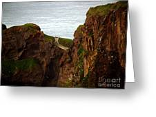 Carrick-a-rede Bridge II Greeting Card