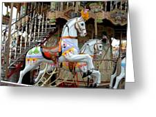 Carrousel 87 Greeting Card