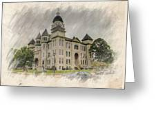 Carthage Courthouse Greeting Card