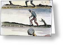 Cartoon: World Wars, 1932 Greeting Card