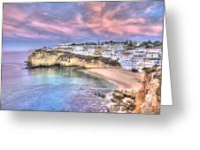 Carvoeiro Early Morning Greeting Card
