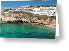Carvoeiro Panorama Greeting Card