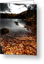 Cary Lake After The Storm Greeting Card