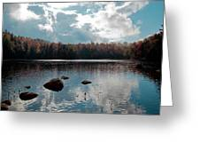 Cary Lake Greeting Card by David Patterson