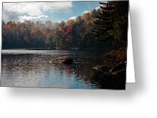 Cary Lake In The Adirondacks Greeting Card