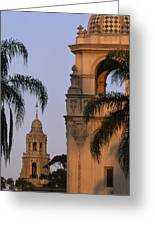 Casa Del Prado Theatre In Balboa Park Greeting Card