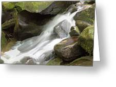 Cascades 2 At Roaring Fork Greeting Card