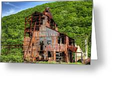 Cass Boiler House Greeting Card