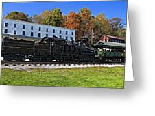 Cass Railway Wv Painted Greeting Card