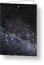 Cassiopeia And Cepheus Constellations Greeting Card by Eckhard Slawik