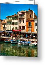 Cassis France Greeting Card