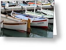 Cassis Harbor Greeting Card