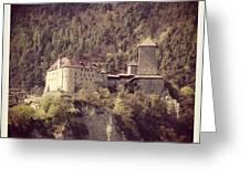 Castel Tirolo Greeting Card