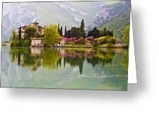 Castel Toblino Greeting Card