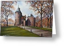 Castell Coch Greeting Card