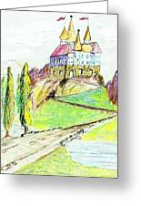 Castile Castle Greeting Card