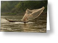 Casting A Net Greeting Card