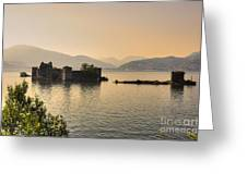 Castle Cannero On Lake Greeting Card