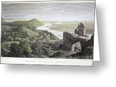 Castle Donaustauf, 1823 Greeting Card