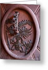 Castle Doorknocker Greeting Card