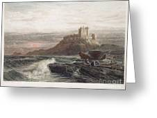 Castle: England, 19th C Greeting Card