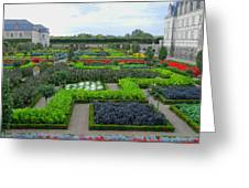 Castle Gardens Greeting Card